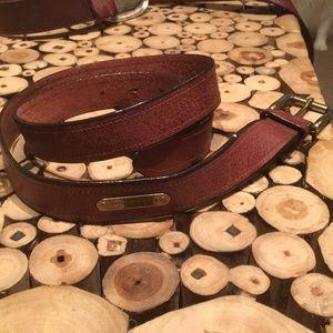 Polo Ralph Lerann gorgeous leather belt